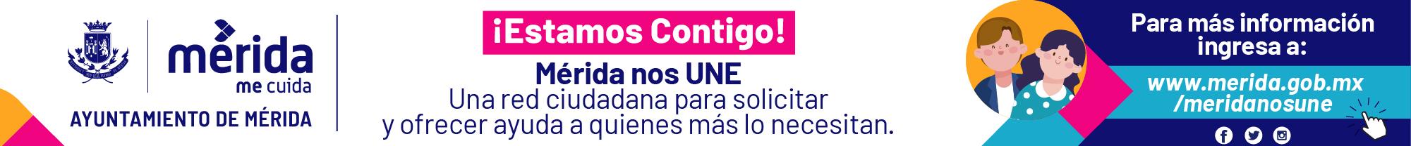 Banner Merida Nos Une_Revista Rural 960 x 100 px