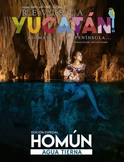 Portada Revista Yucatan edicion agosto 2020