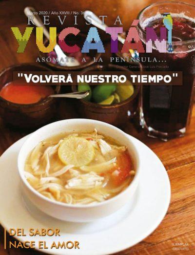 Portada Revista Yucatan edicion marzo 2020
