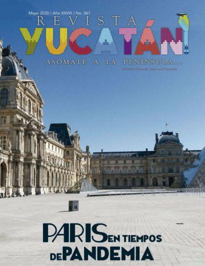 Portada Revista Yucatan edicion mayo 2020